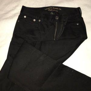 NWOT Ralph Lauren Black Jeans in Perfect Shape